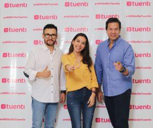Gabriel Freire, Gerente de Marca y Comunicaciones de Tuenti en Ecuador; Valeria Maldonado, Jefa de Producto de Tuenti, Gerardo Suárez, Director Ejecutivo de Tuenti en Ecuador