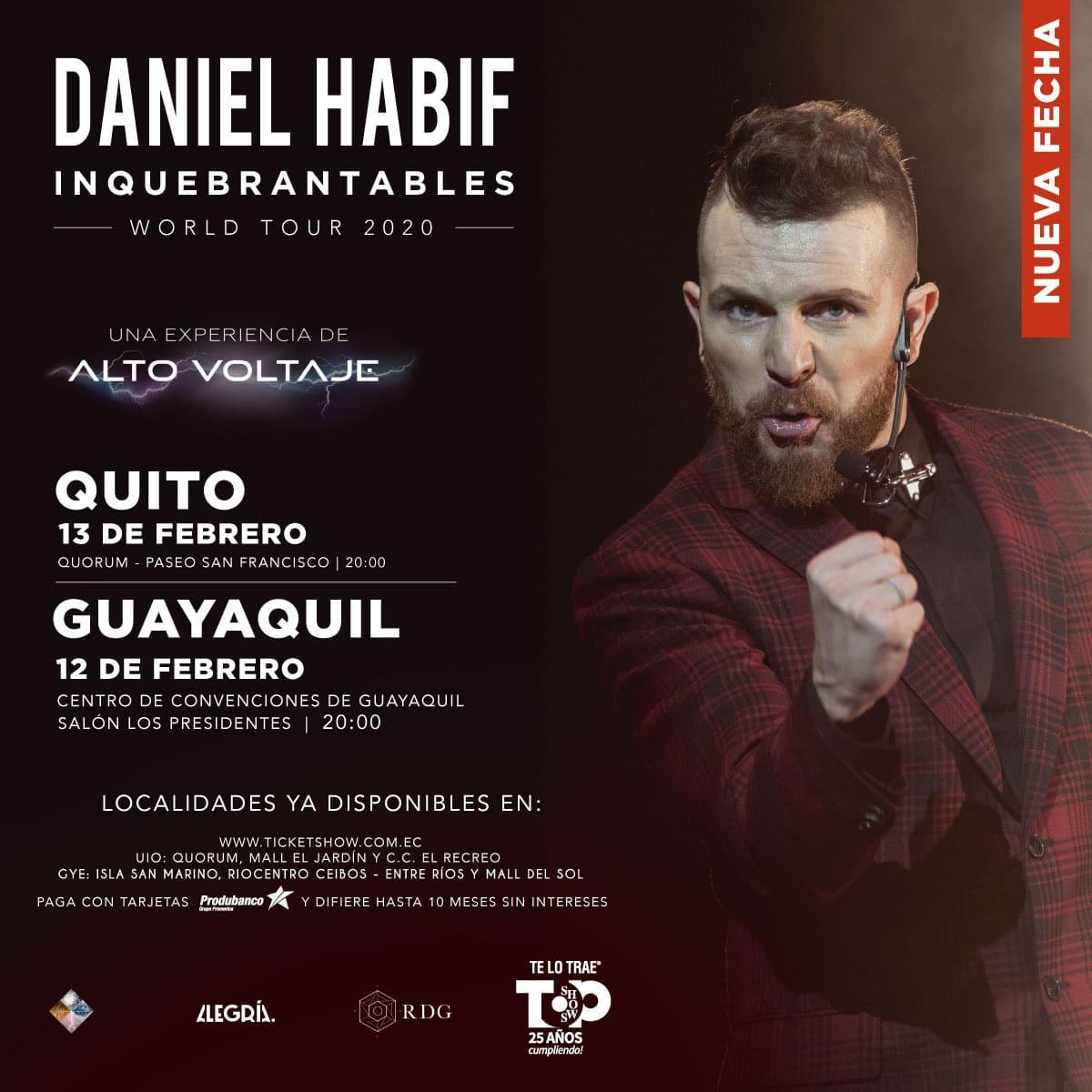 DANIEL HABIF CONFERENCISTA E INFLUENCIADORES YA SE ENCUENTRA EN EL PAÍS