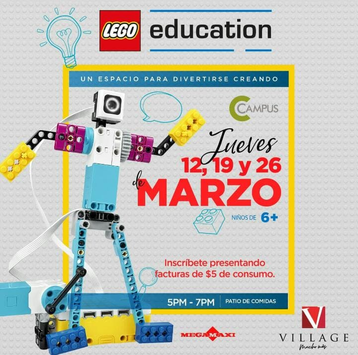 CREATIVIDAD Y MUCHO APRENDIZAJE TRAE VILLAGE JUNTO A LEGO EDUCATION