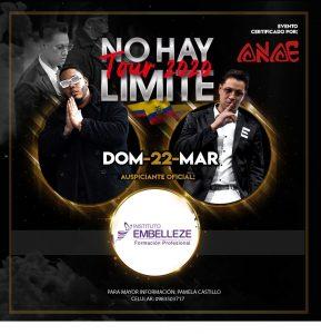 """LUIS RIVERA Y SKY SALON LLEGAN A QUITO CON SU GIRA """"NO HAY LIMITES TOUR 2020"""""""