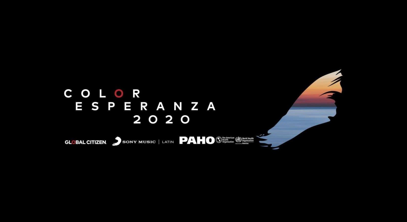 Global Citizen y Sony Music Latin relanzan Color Esperanza para luchar contra el COVID-19