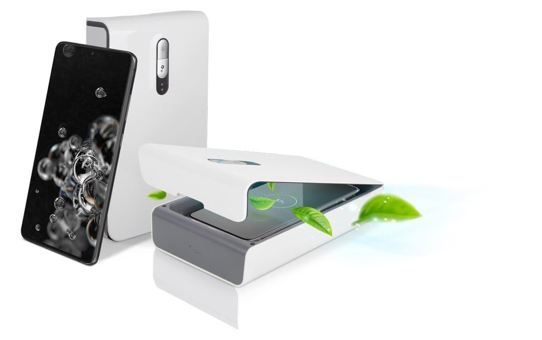 Samsung cuida de ti con sanitizadores para tus equipos