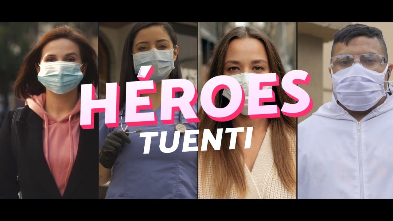Tuenti destaca labor de Héroes sin capa durante la emergencia sanitaria y cuarentena