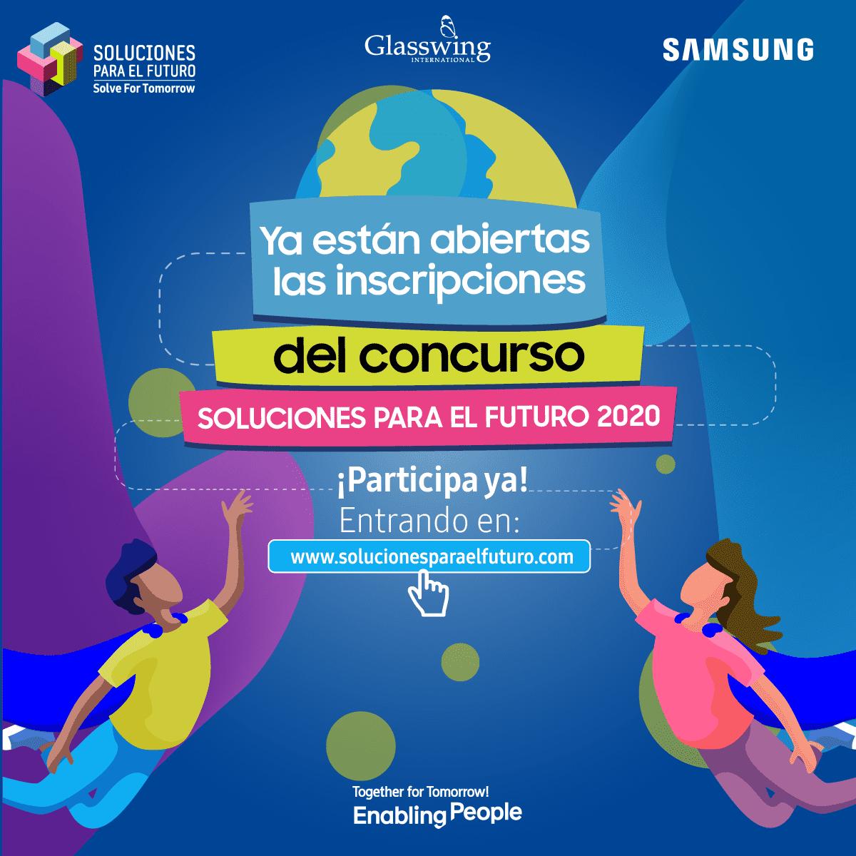 Concurso Soluciones para el Futuro de Samsung recibirá ideas de estudiantes de ocho países de la región
