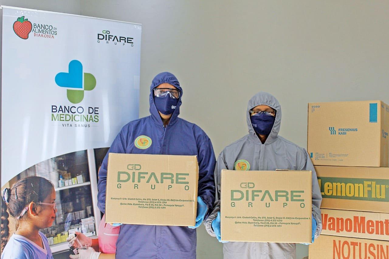 Banco de Medicinas Vita Sanus ofrece aporte a personas vulnerables en pandemia