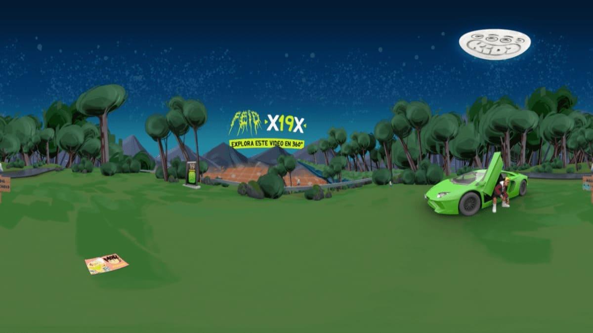 """El cantante Feid estrena """"X19X"""", su primer vídeo animado en 360 grados"""