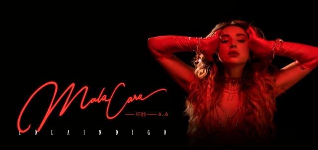 """La cantante española Lola Índigo presenta su nuevo sencillo """"Mala Cara"""""""