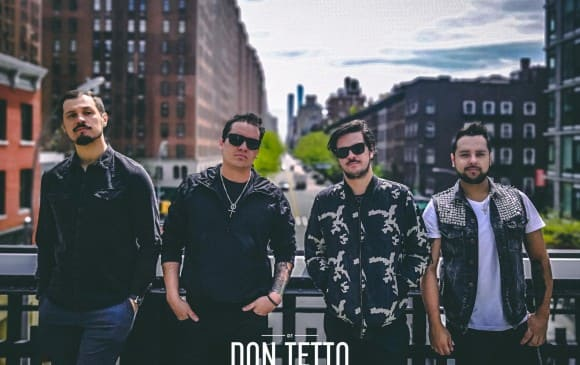 """La banda de rock Don Tetto estrenará a nivel mundial su nuevo álbum """"Grandes Éxitos"""""""