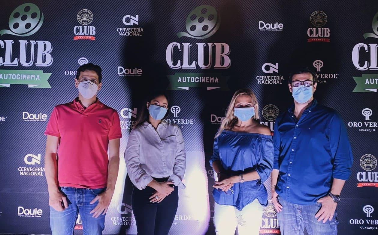 Club Autocinema, una propuesta de entretenimiento seguro, llegó a Ecuador
