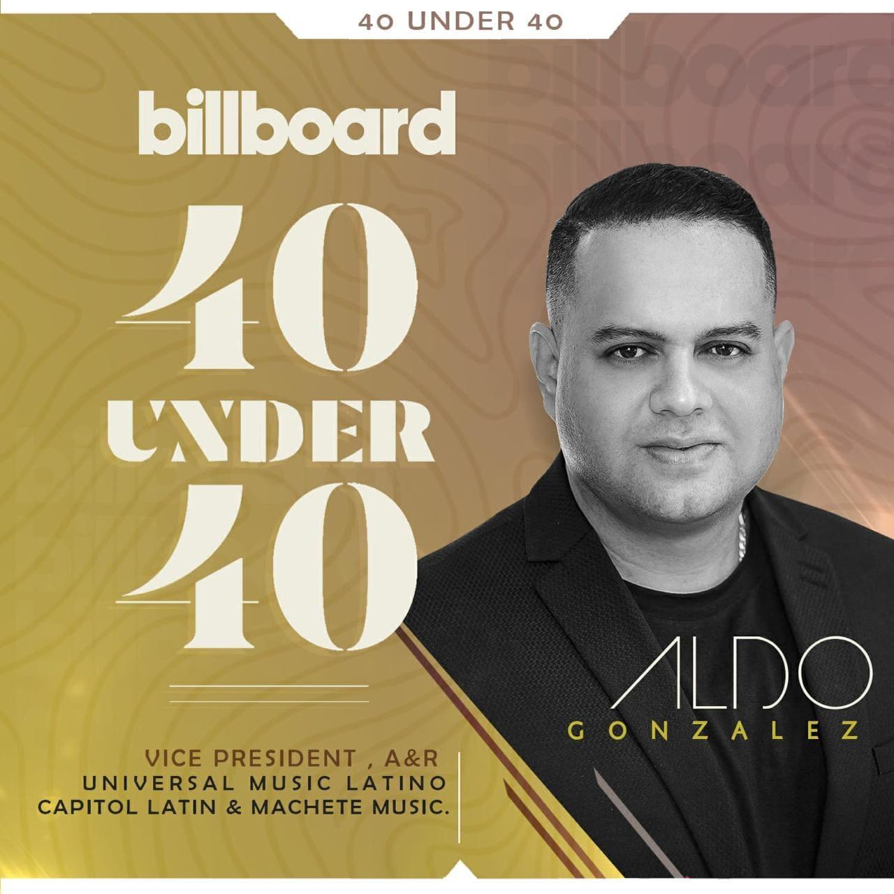 Ecuatoriano Aldo González se encuentra entre los jóvenes más relevante de Billboard 2020