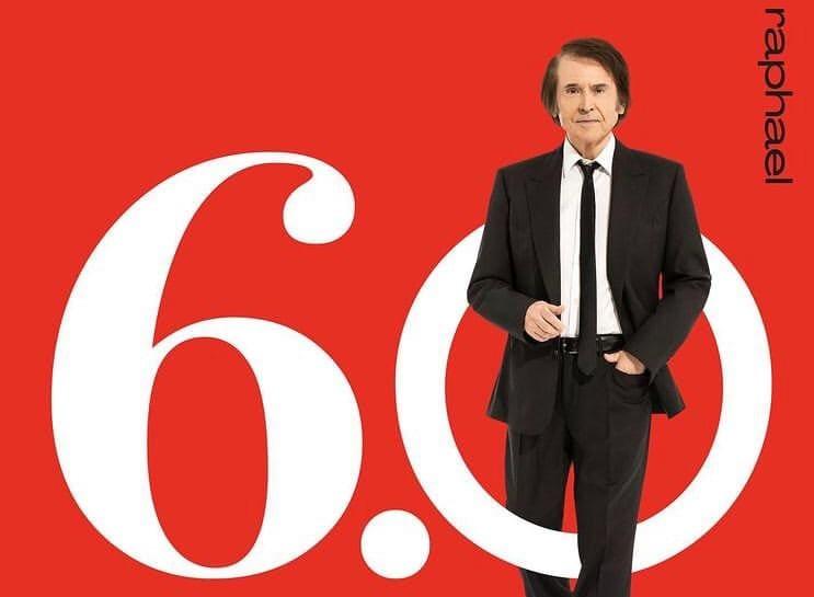 """Raphael presenta """"Raphael 6.0"""" Disco con el celebra 60 años en los escenarios"""