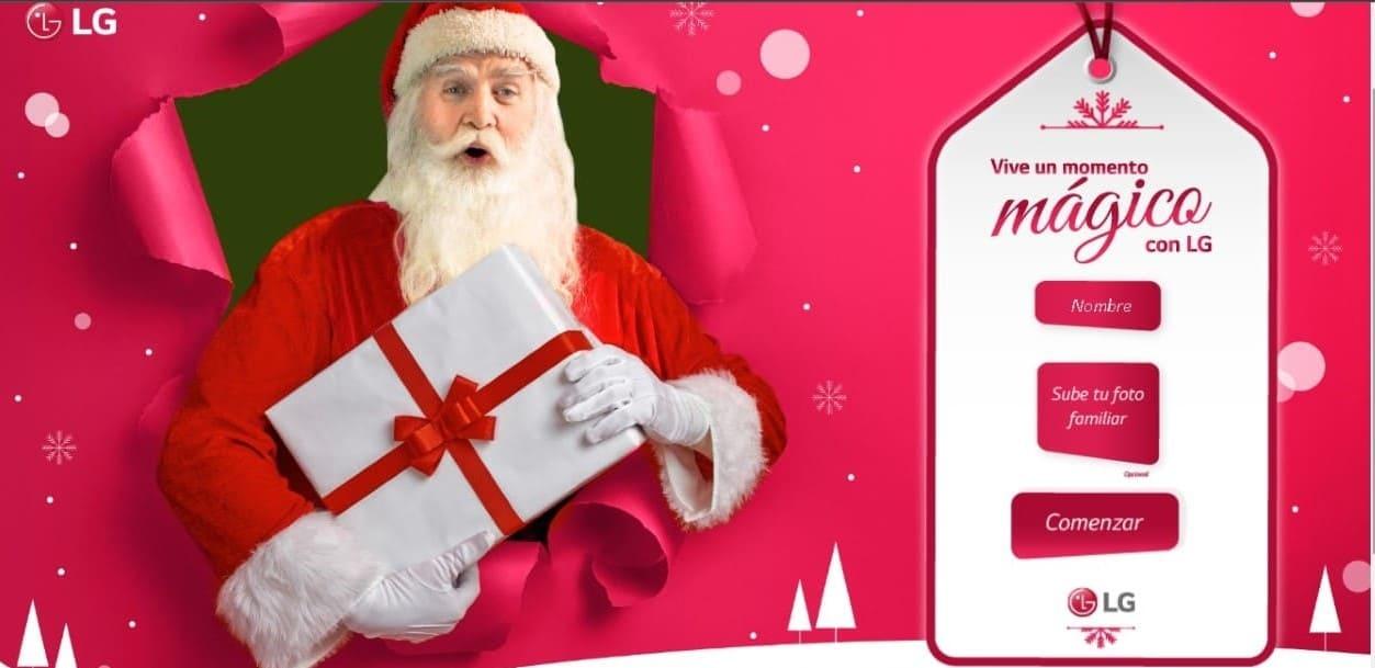 """""""Vive una Navidad mágica con LG"""", la nueva campaña que busca alegrar a sus consumidores"""