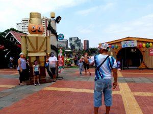 La magia de la navidad se vive en el Malecón 2000 con diferentes actividades