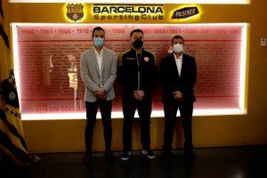 Fundación Malecón 2000 y Barcelona Sporting Club firman alianza estratégica