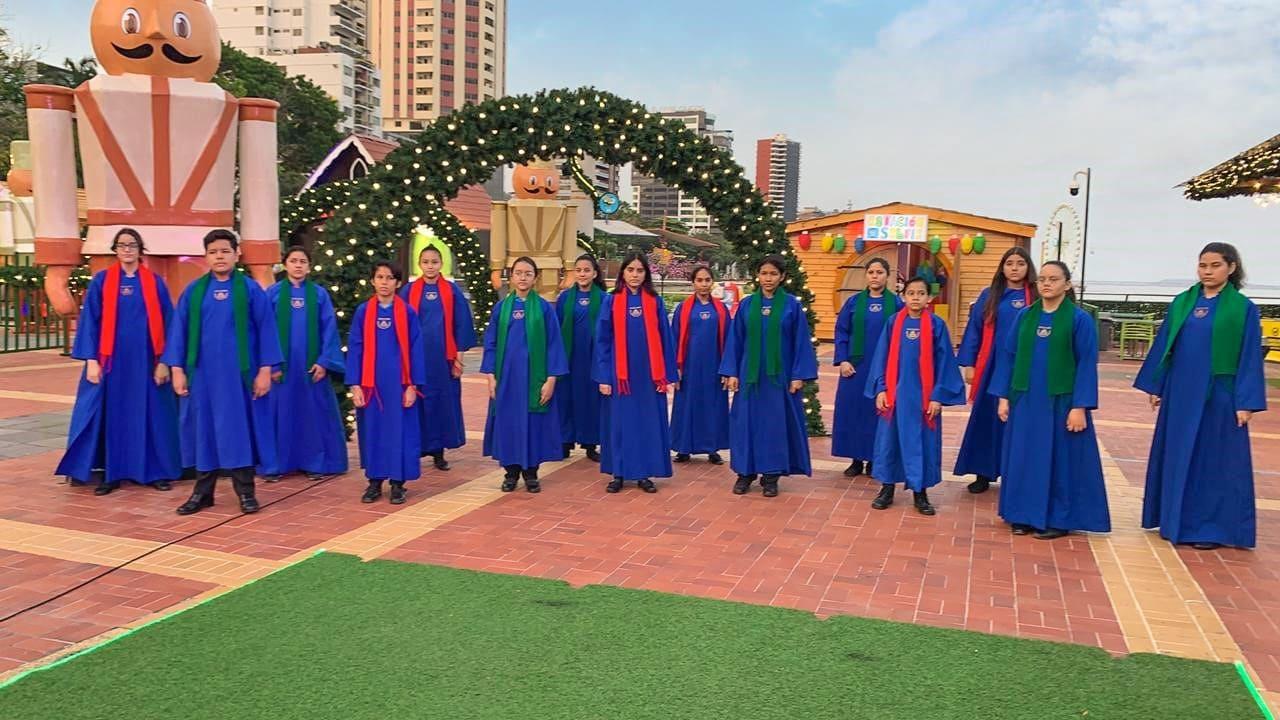 Parque de la paz transmitirá este domingo 13 una emotiva Misa junto a Coro Navideño