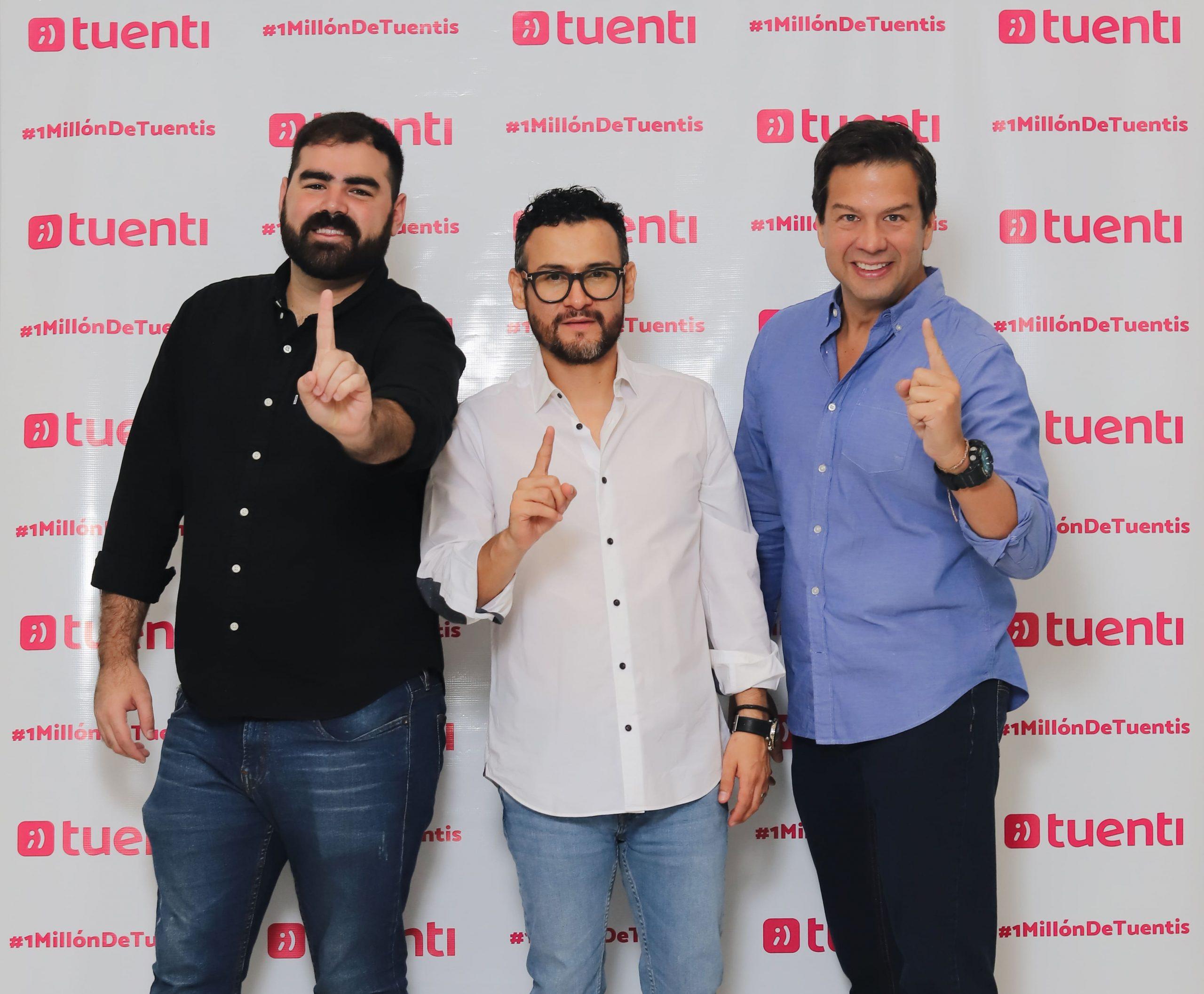 TUENTI FESTEJA 1 MILLÓN DE CLIENTES