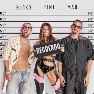 MAU Y RICKY LANZAN SENCILLO Y VIDEO MUSICAL JUNTO A TINI «RECUERDO»