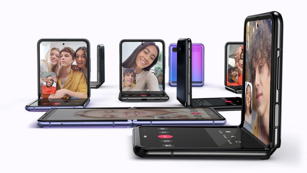 SAMSUNG ELECTRONICS PRESENTA EL GALAXY Z FLIP UN NUEVO TELÉFONO INTELIGENTE PEGABLE