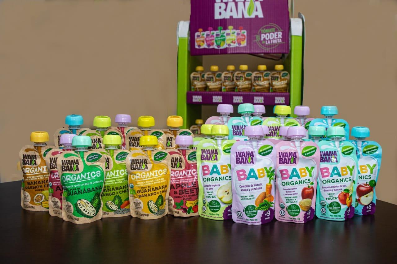 """WANABANA PRESENTA DOS OPCIONES NUTRITIVAS PARA LOS ECUATORIANOS """"ORGÁNICO"""" y """"BABY"""""""