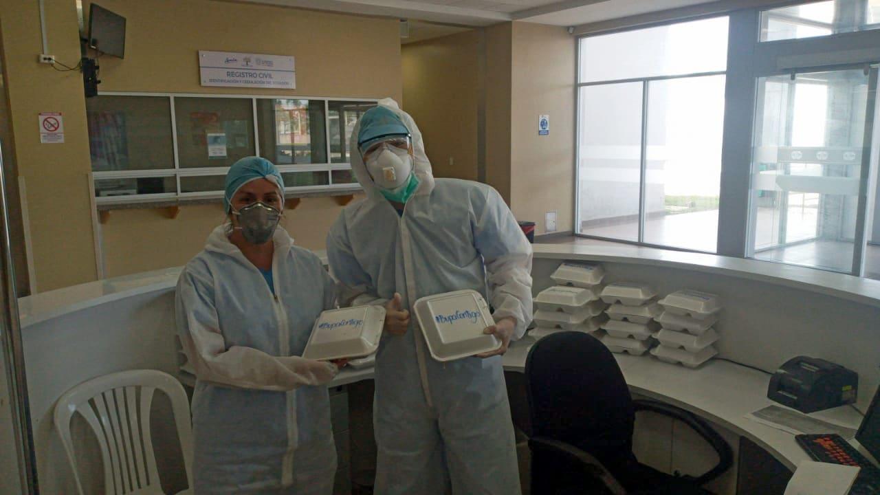 Bupa Global Latinoamérica dona miles de comidas a personal médico de hospitales que atienden el COVID-19
