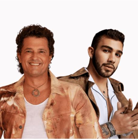 """CARLOS VIVES Y MANUEL TURIZO EN EL REMIX DE """"NO TE VAYAS"""""""