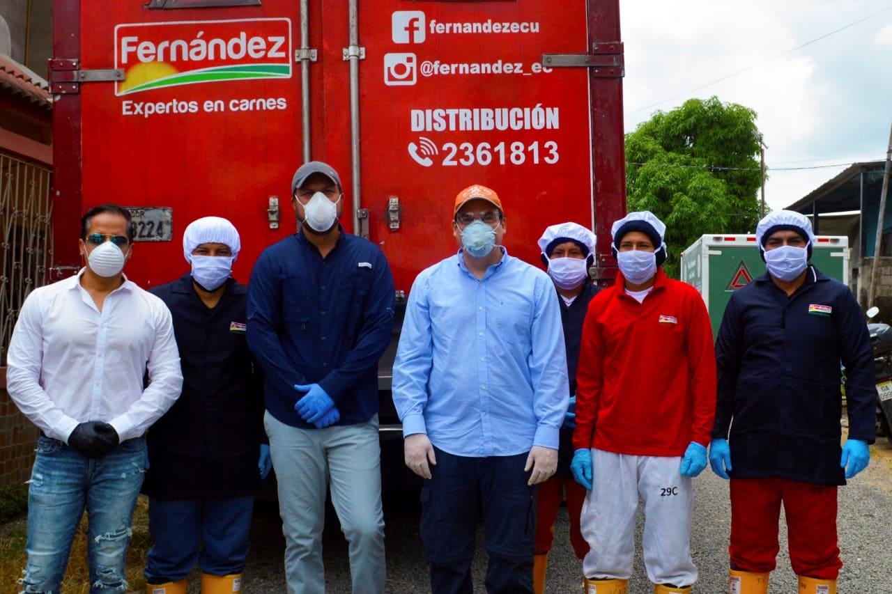 Corporación Fernández realiza donaciones de alimentos a sectores vulnerables