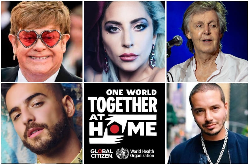 ONE WORLD: TOGETHER AT HOME, UN CONCIERTO ONLINE PARA RECAUDAR FONDOS