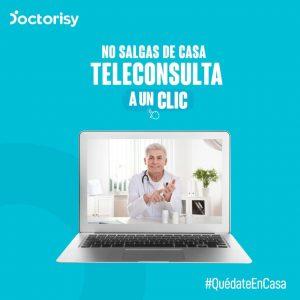 LA PLATAFORMA DOCTORISY PRESENTA SU SERVICIO DE TELECONSULTA