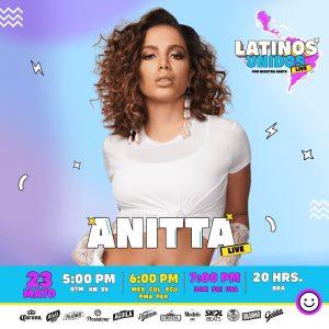 Latinos Unidos presenta en su segunda edición a la cantante Anitta
