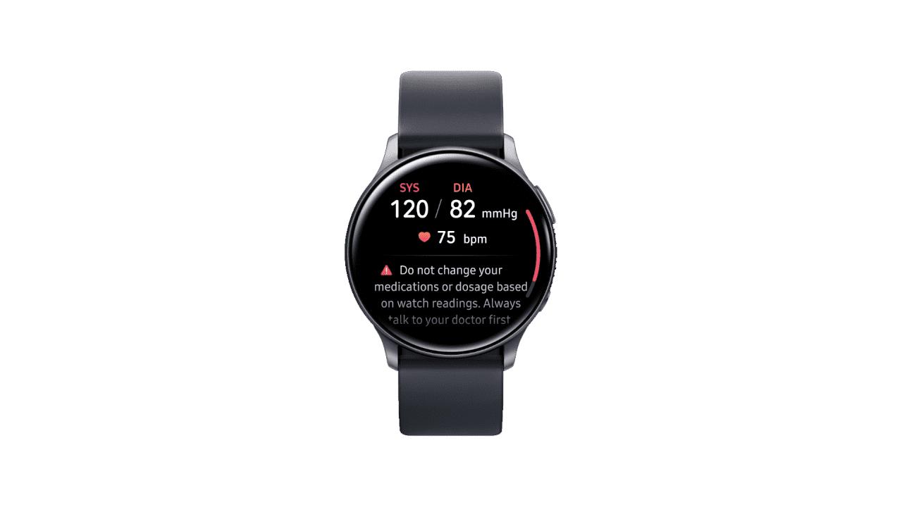 Samsung anuncia una aplicación para monitorear presión arterial con sus dispositivos Galaxy Watch