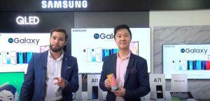 Samsung presentó su nueva línea Galaxy A 2020