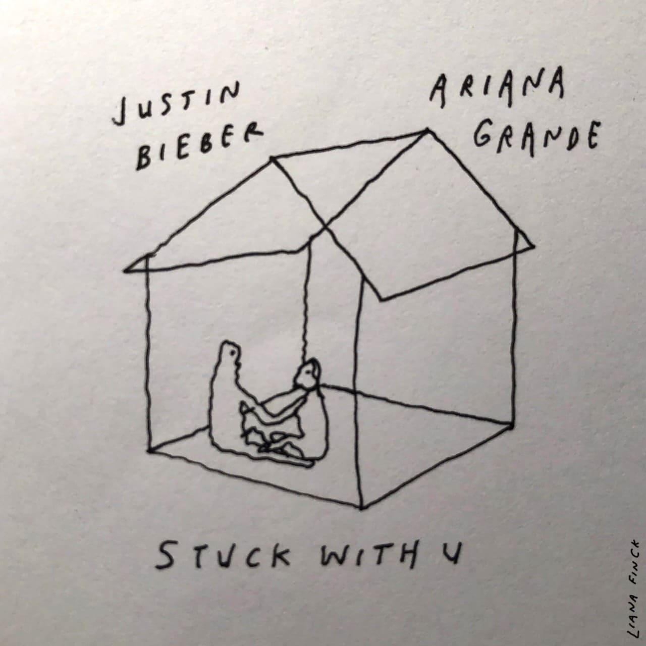 "Ariana Grande y Justin Bieber nos cantan ""Stuck With You"""