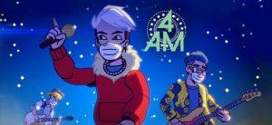 """En medio de la pandemia la banda 4 AM presenta """"Pienso En Ti"""" en un vídeo animado"""