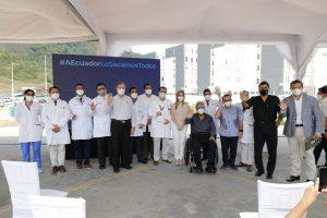 Cervecería Nacional entregó al gobierno nacional la Unidad de Héroes para el ciudado y atención primaria médica