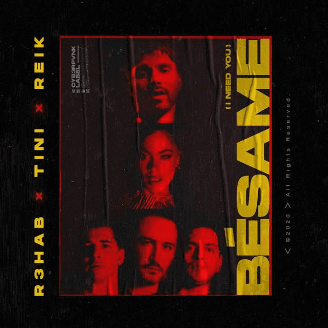 """Tini, Rehab & Reik presentan su nueva canción """"Bésame (I Need You)"""""""