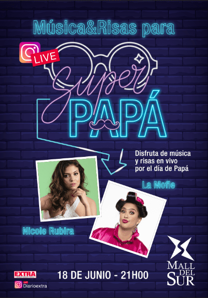 """Mall del Sur trae un imperdible Live para celebrar a """"Super Papá"""""""