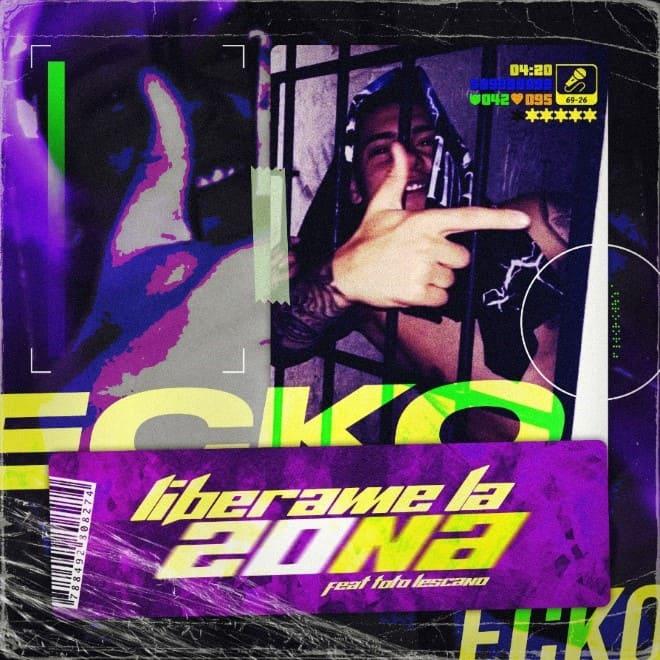 """Ecko, el artista argentino de proyección internacional, lanza """"Liberame La Zona"""" con Toto Lescano"""