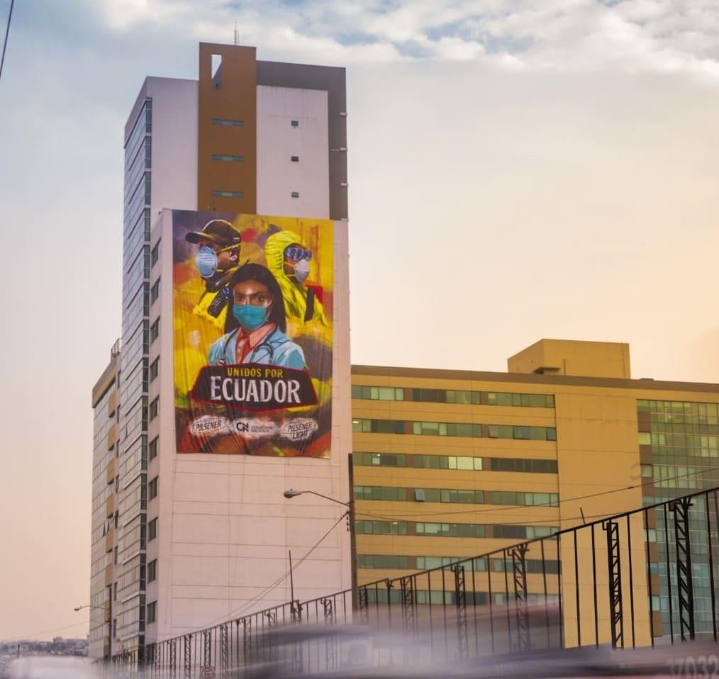 Cervecería Nacional realiza exposición itinerante en homenaje a los héroes de la pandemia