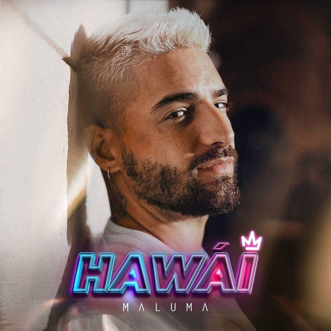 """Maluma estrena su nuevo sencillo """"Hawái"""" y es tendencia #1 en las plataformas digitales"""