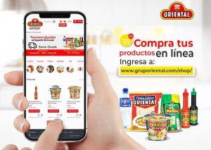 Oriental Industria Alimenticia habilitó nuevo canal de ventas en línea