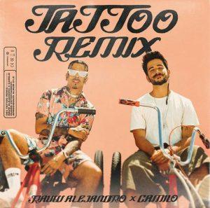 Rauw Alejandro presenta la nueva versión de 'Tattoo Remix', esta vez junto a Camilo