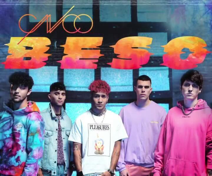 """CNCO sorprende a sus seguidores con la premiere de su sencillo """"BESO"""""""