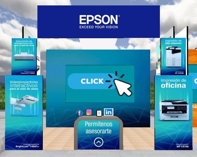 Epson participa en la primera Feria Virtual EDU 2020