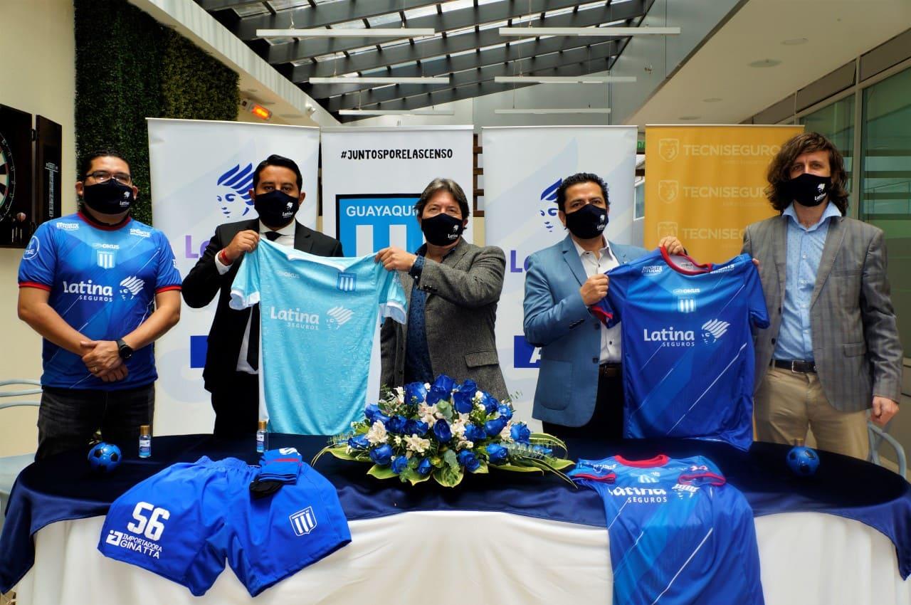 Guayaquil Fútbol Club presentó su nueva indumentaria y busca el ascenso de categoría