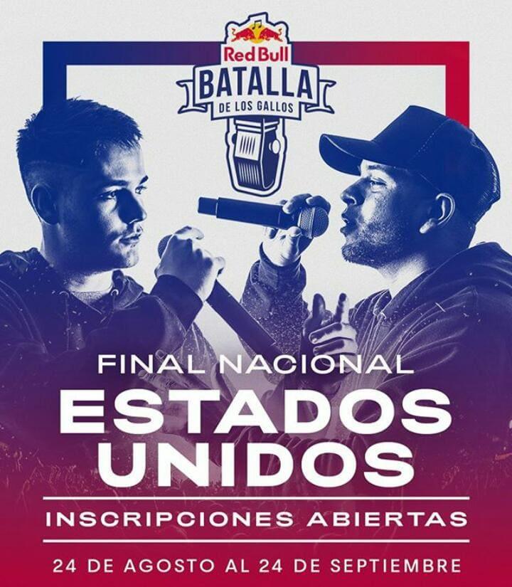 Ya están abiertas las aplicaciones para el evento de 'Red Bull Batalla de los Gallos' en Estados Unidos