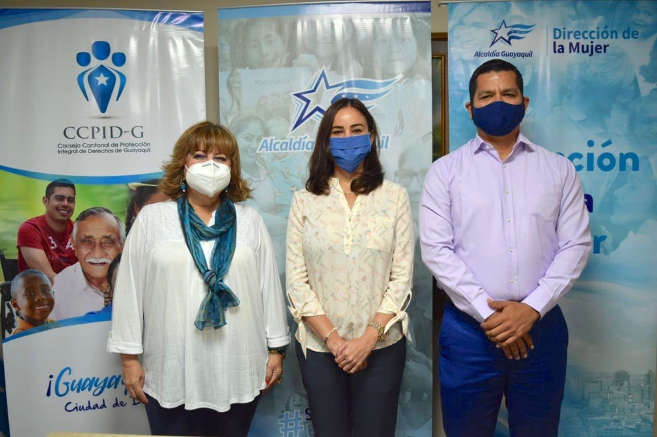 CCPIDG y Municipio de Guayaquil firman convenio para proteger a las mujeres víctima de violencia