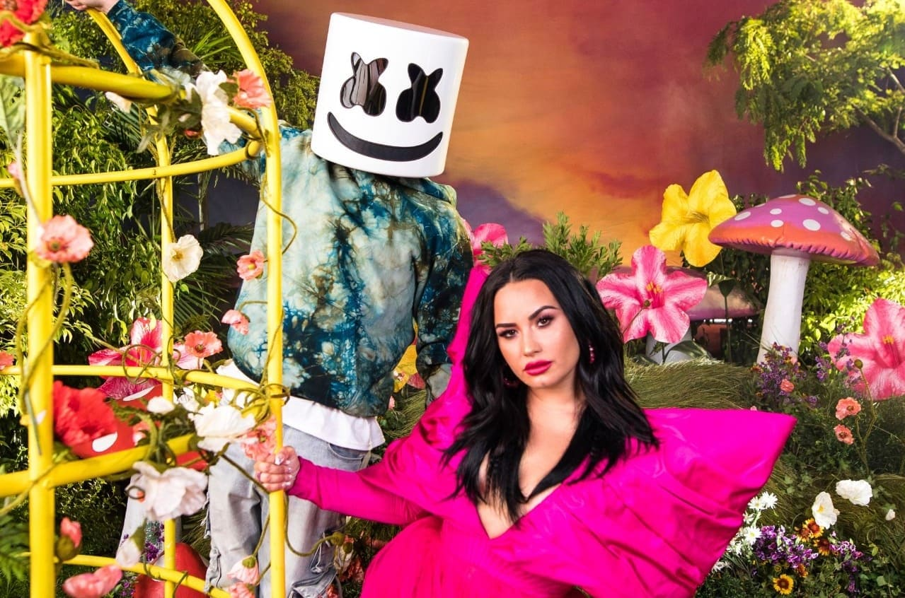 "Marshmello junto a Demi Lovato presentan ""Ok Not To Be Ok"""
