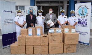 Filtrocorp entrega 140 mil insumos a personal médico y banco de alimentos