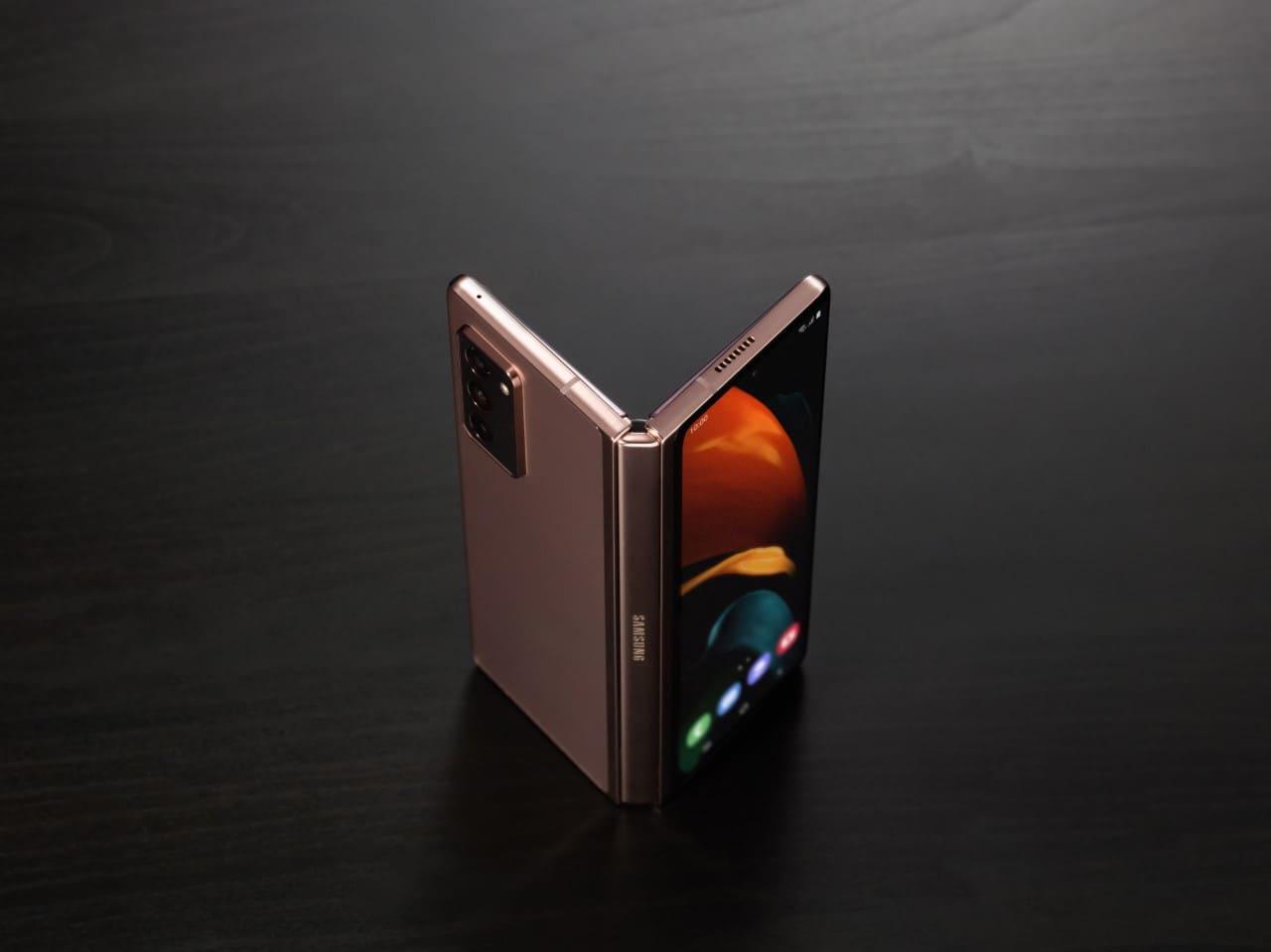 Samsung presentó su nuevo dispositivo plegable Galaxy Z Fold2