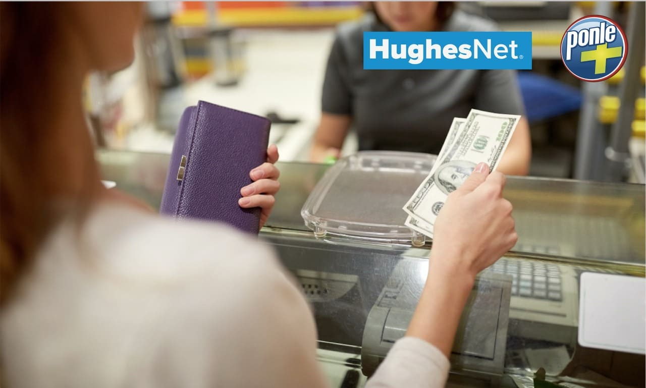 HughesNet®habilita pagos de sus facturas de consumo a través de la Red Ponle+